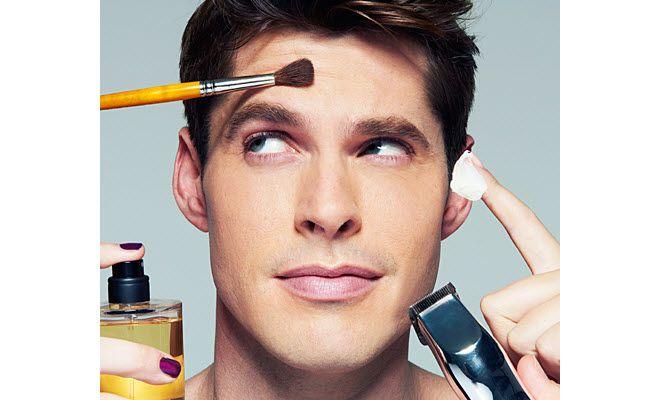 Groom Your Face Skincare For Men Hush Beauty Tips For Men Men Wearing Makeup Male Grooming