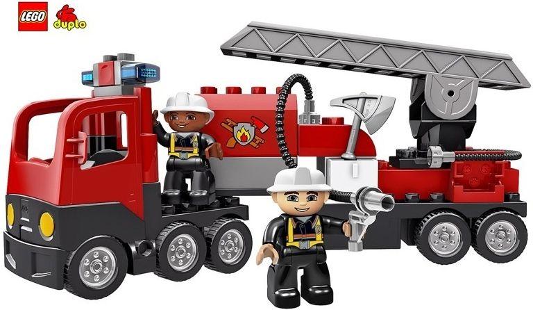 Lego Duplo 4977 Straż Pożarna Lego Trucks Fire Trucks I Lego Duplo