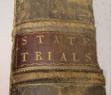 Englands 1st Terrorist Trial 1752 Book details Guy Fawkes Trial and Hanging for trying to blowup Houses of Parliament.Contains many other Trials