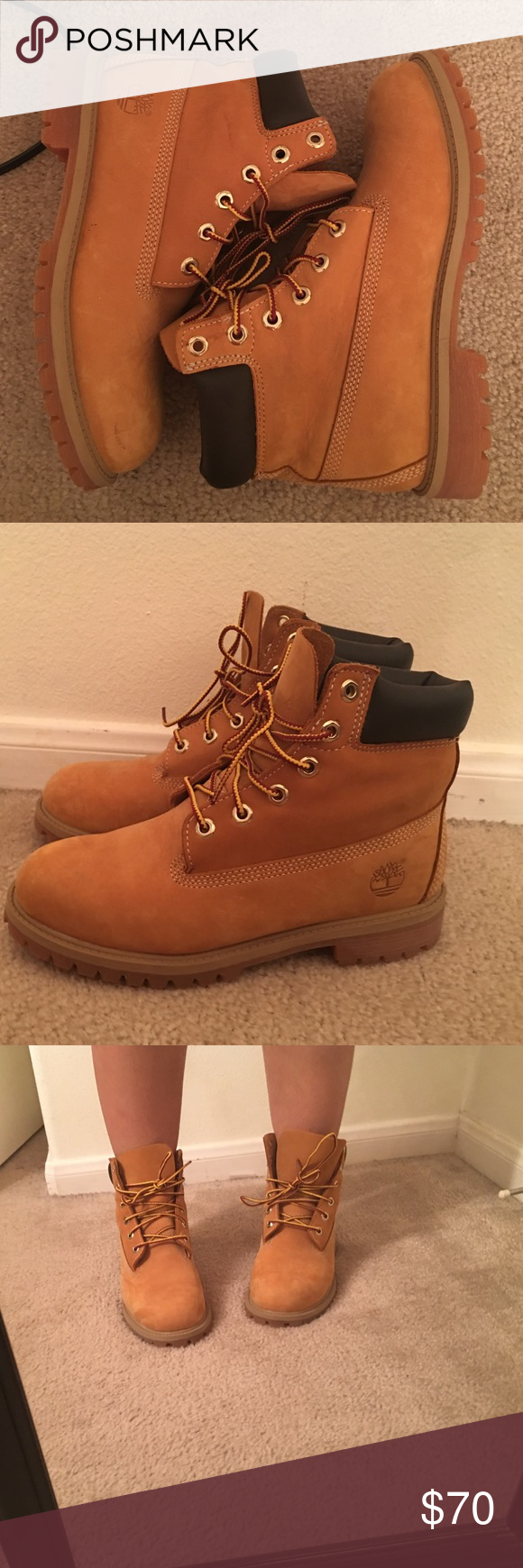 Timberlands Only worn once Timberland Shoes Winter & Rain Boots