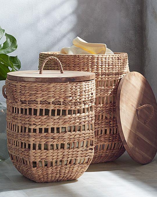 Storage Baskets With Lids Bathroom Basket Storage Decorative Storage Baskets Storage Baskets With Lids