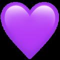 Emoji De Corazon Violeta U 1f49c Emojis De Iphone Emoji De Corazon Imagenes De Emoji