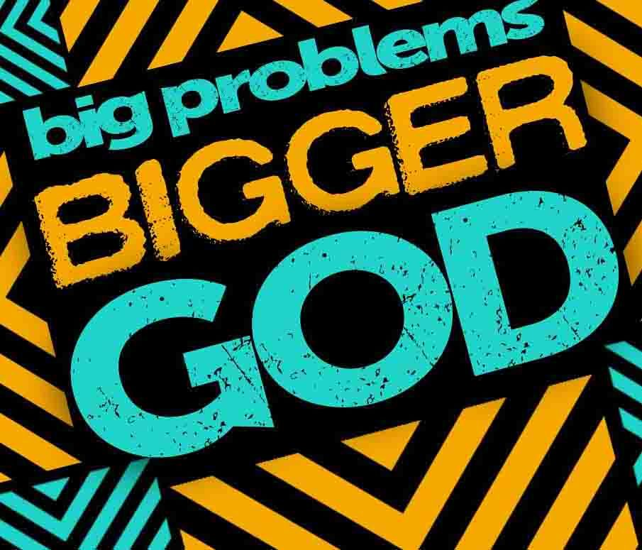 Big Problems Bigger God Preteen Curriculum Pinterest Sunday