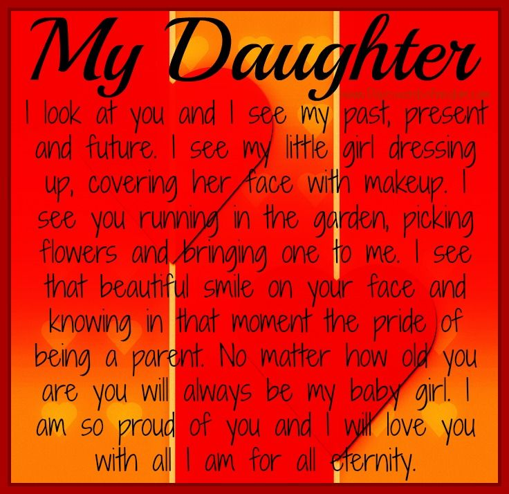 Encouraging Words For My Daughter | My Daughter ~ If you have a