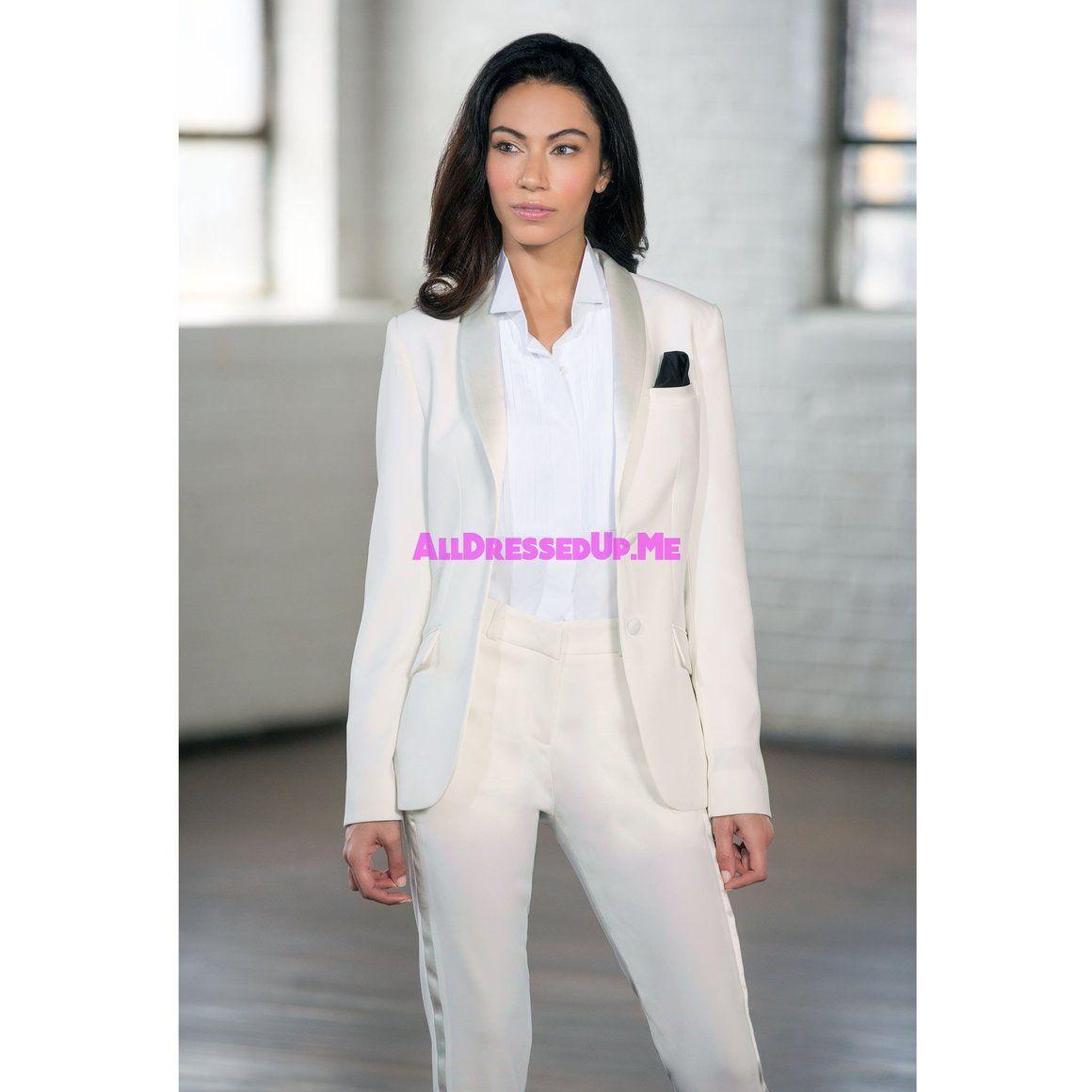 Tux Rent White Wedding Suit Women Suits Wedding Tuxedo Women [ 1160 x 1160 Pixel ]