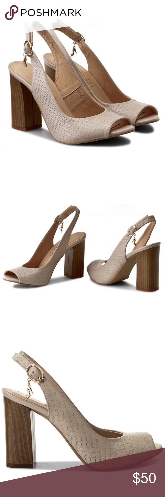 81c488e320c3 Lasocki  heels  •Lasocki •IN GREAT CONDITION! WORN ONCE!  additional pics  coming  •European sandals •beige •European size 39 Lasocki Shoes Heels