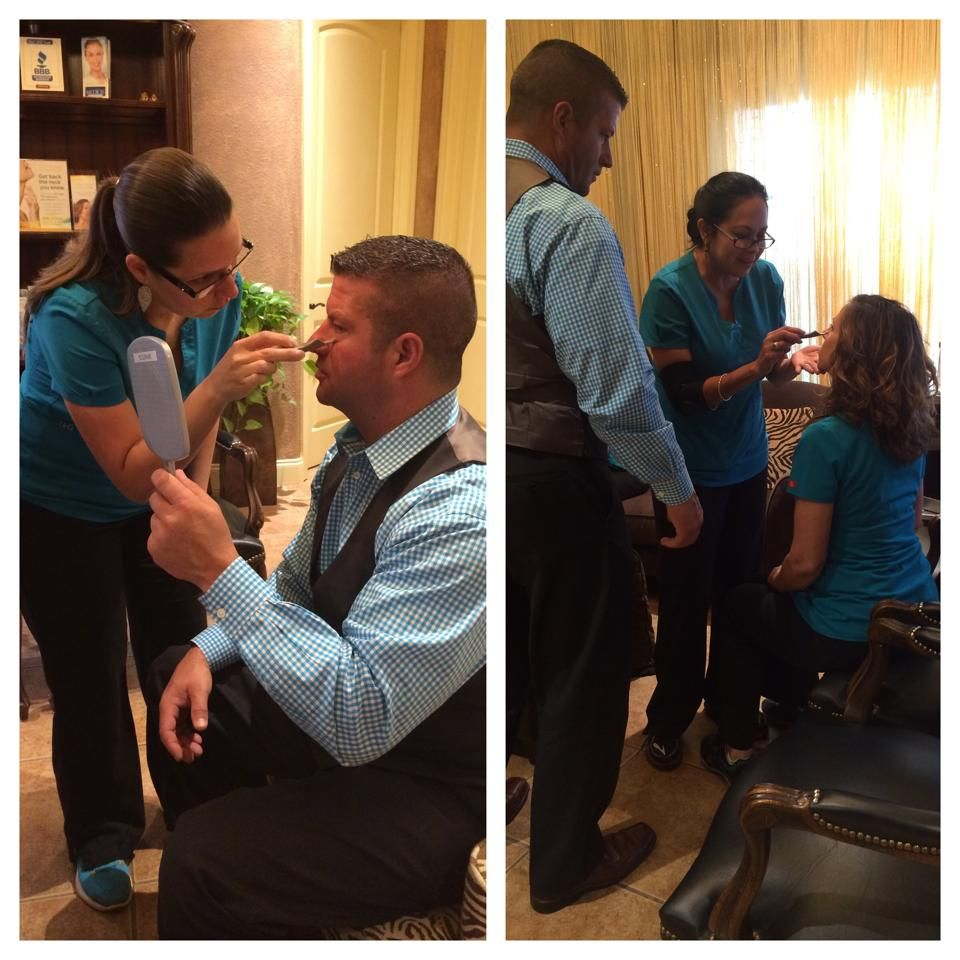 Behind the scenes at Sonterra Laser Med Spa. With our