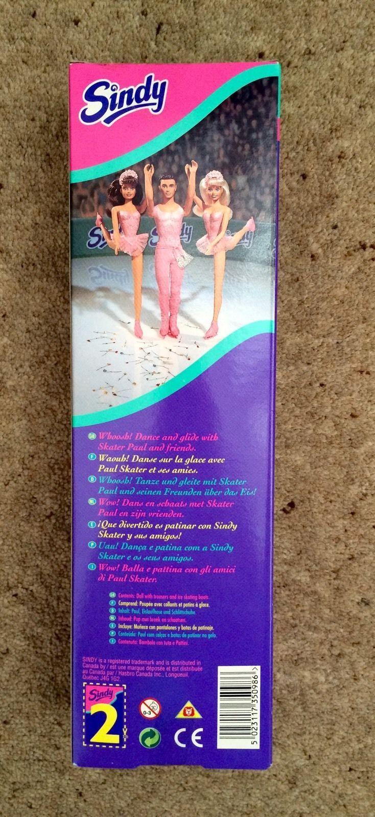 Sindy Doll Skater Paul Brand New In Box 1996 | eBay