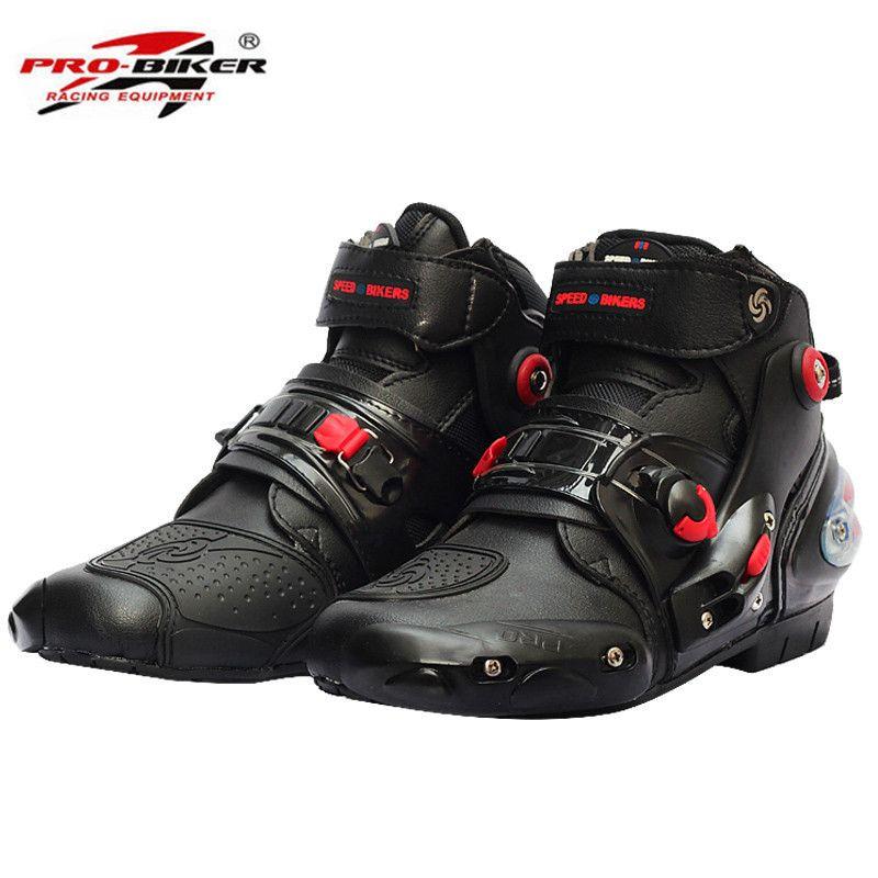 Brand New Motorcycle Boots Shoes Short Motocross Botas Moto Motoqueiro Motocicleta A90011 Botte Bota Motorcycle Riding Boots Mens Motorcycle Boots Racing Boots