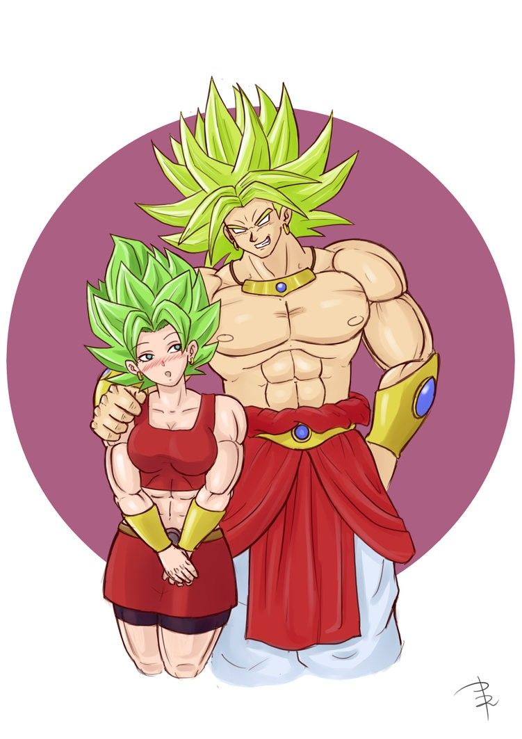 Kale And Broly Uni 13 Dragon Ball Dragon Ball Gt Dragon Ball Z