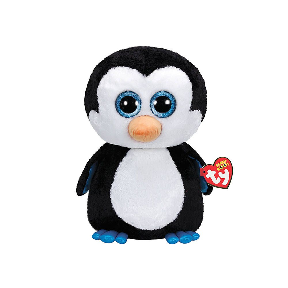 Ty Beanie Boos Plush Waddles the Penguin - 13 | Boo plush, Beanie boos, Beanie boo