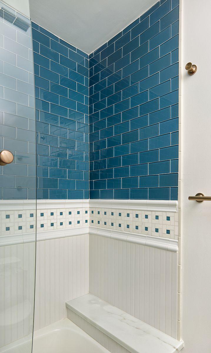 Shower in Fort Sumter House, Charleston, SC   Atlantic Stone ...