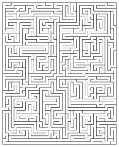 Printable Maze Puzzles for Adults Printable Maze 20