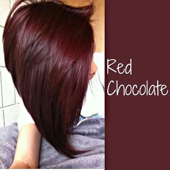 Love The Color Red Chocolate Is A High Energy That Will Make People Of Your Hair Try For Y Look