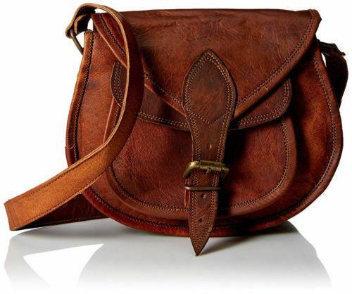 Damen Retro Vintage Leder Tasche Neu Schultertasche Umhängetasche Neu