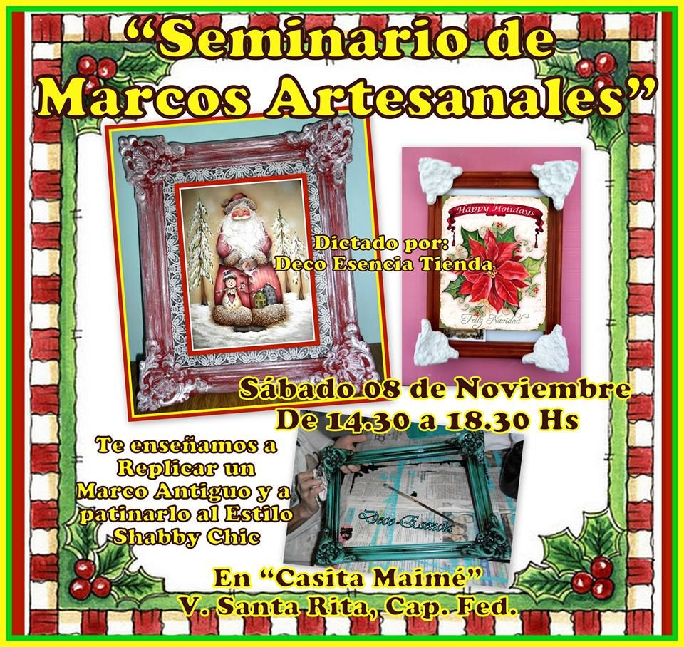 SEMINARIO DE MARCOS ARTESANALES\