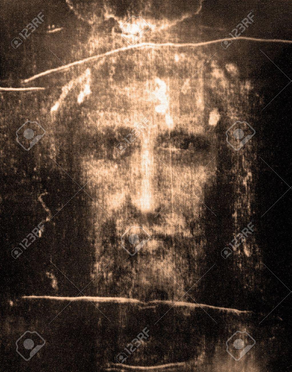 Face of Jesus from Shroud of Turin   Jesus face, Jesus