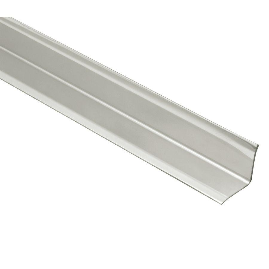 Schluter Systems Eck Ki 0 563 In W X 59 In L Steel Tile Edge Trim Ki15e 150 In 2020 Tile Edge Steel Steel Edging