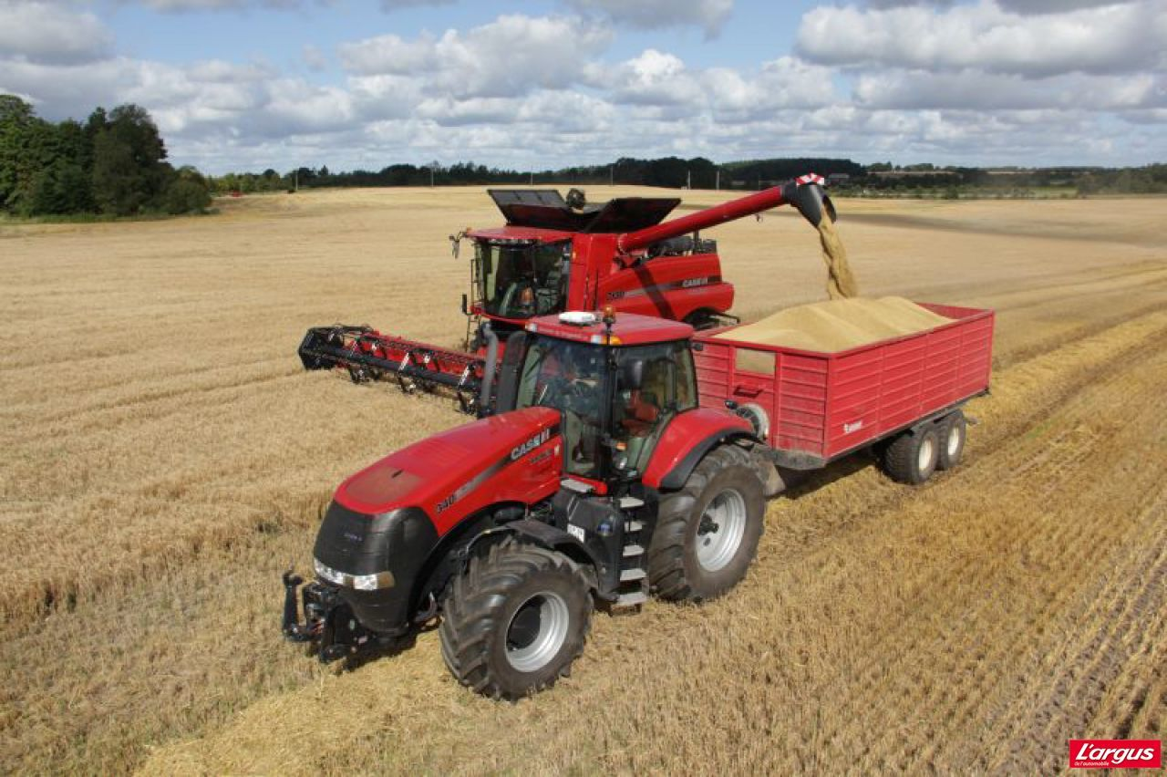 Case International Harvester : Case ih améliore ses axial flow and tractor