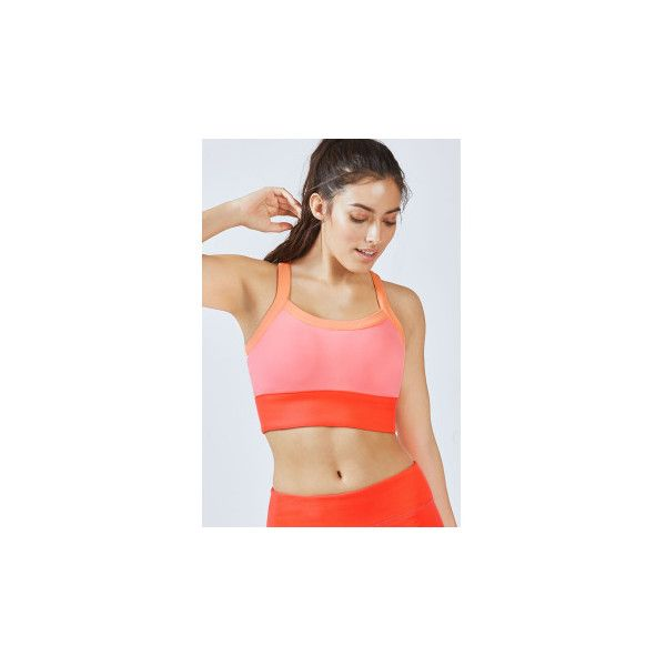2c4bf3894897a Fabletics Sports Bra Robyn High Support ( 45) ❤ liked on Polyvore featuring  activewear