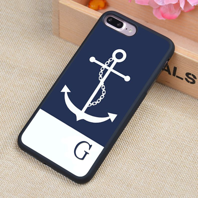 navy iphone 7 phone cases