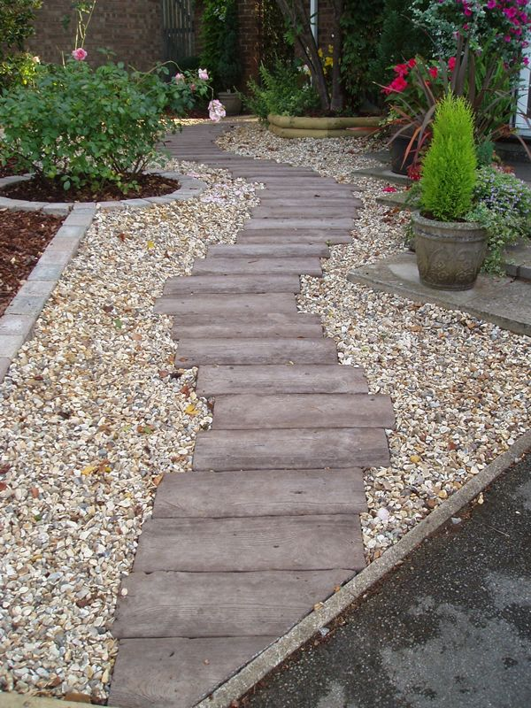 Example of a cottage garden/woodland path using more ...