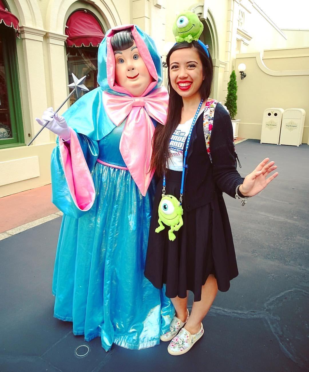 Fairy Godmother At Tokyo Disneyland Scary Godmother Tokyo