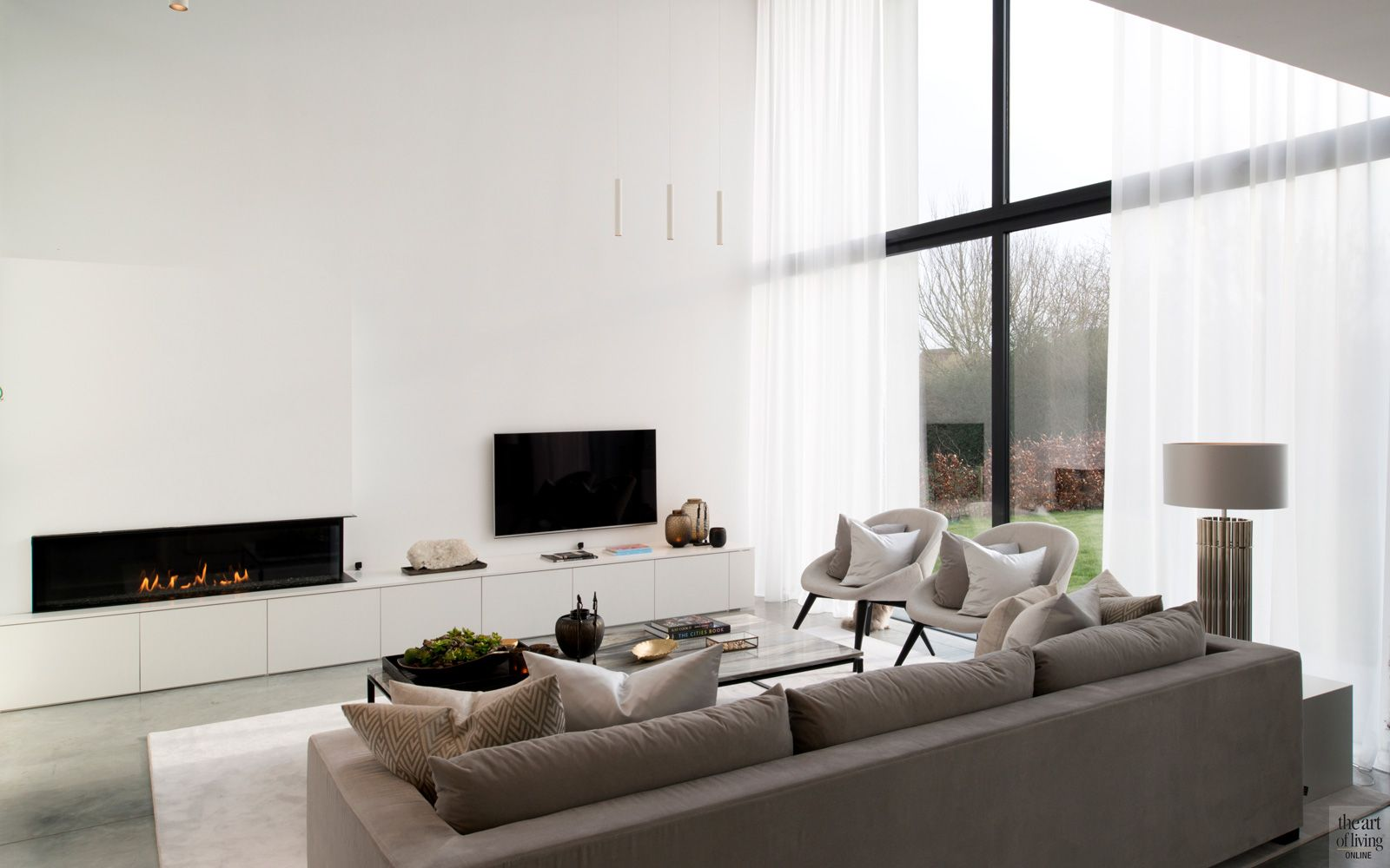 Hedendaagse villa | moderne woning plat dak | Pinterest | Luxury ...