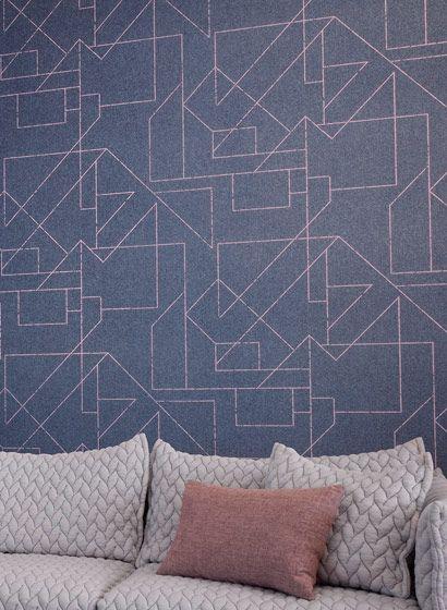 Tapete Outline Von Hookedonwalls 3121 Mit Bildern Tapeten
