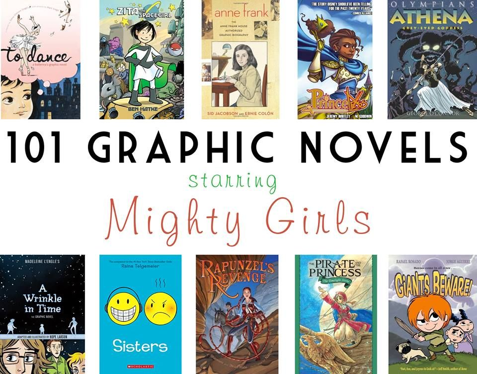 A Mighty Girl   graphic novels starring strong female
