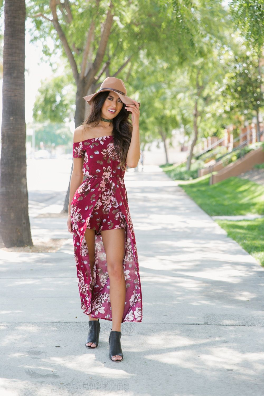 Falling For Floral Romper #valentines #valentinesday