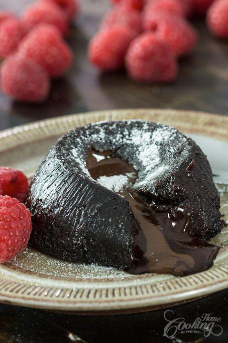 Eggless Chocolate Lava Cake Recipe Lava Cakes Chocolate Lava Cake Recipe Eggless Desserts
