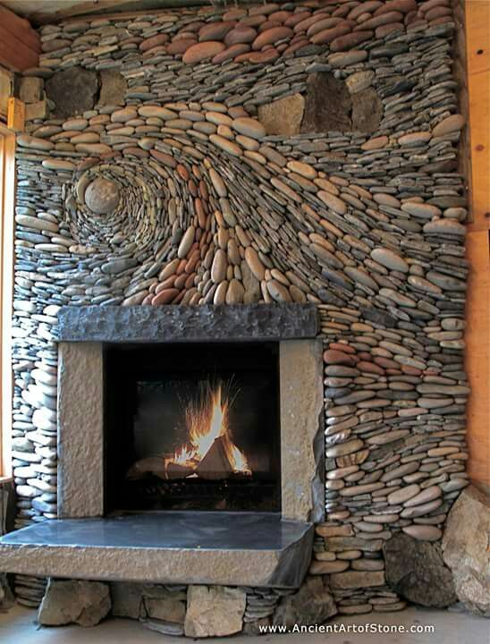 natural stone fireplace i would love to make a beautiful work of rh pinterest com how to make a stone fireplace hearth how to make a stone fireplace ark