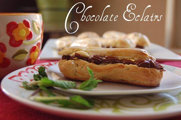 FFwD: Chocolate Eclairs