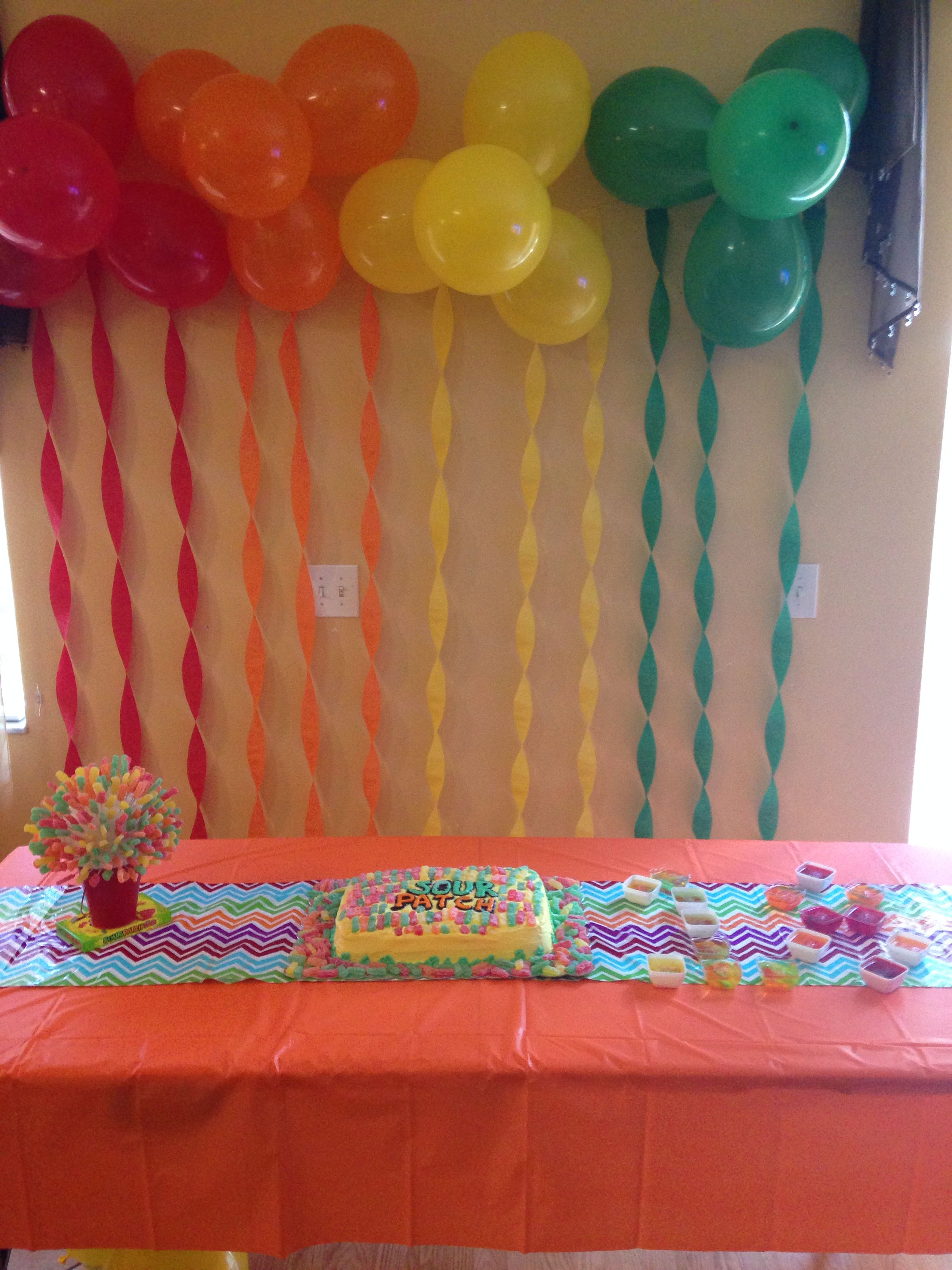 Our Sour Patch Kids Party 12713