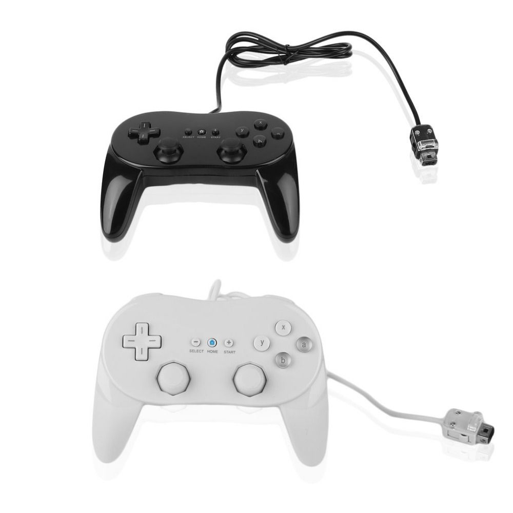 Classic Wired Game Controller Gaming Remote Pro Gamepad Shock Joypad ...