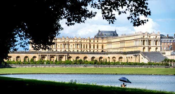 An Interactive map of Versailles