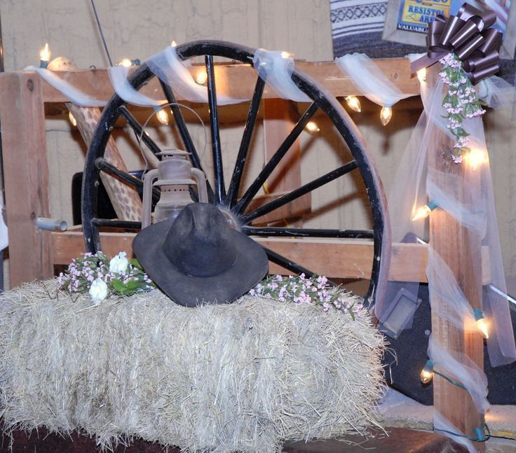 Cowboy Wedding Decoration