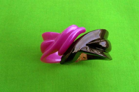 Vintage Hinged Bracelet Item 1253 by LaylaBaylaJewelry on Etsy
