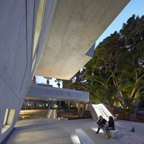 Open Issam Fares Institute by Zaha Hadid