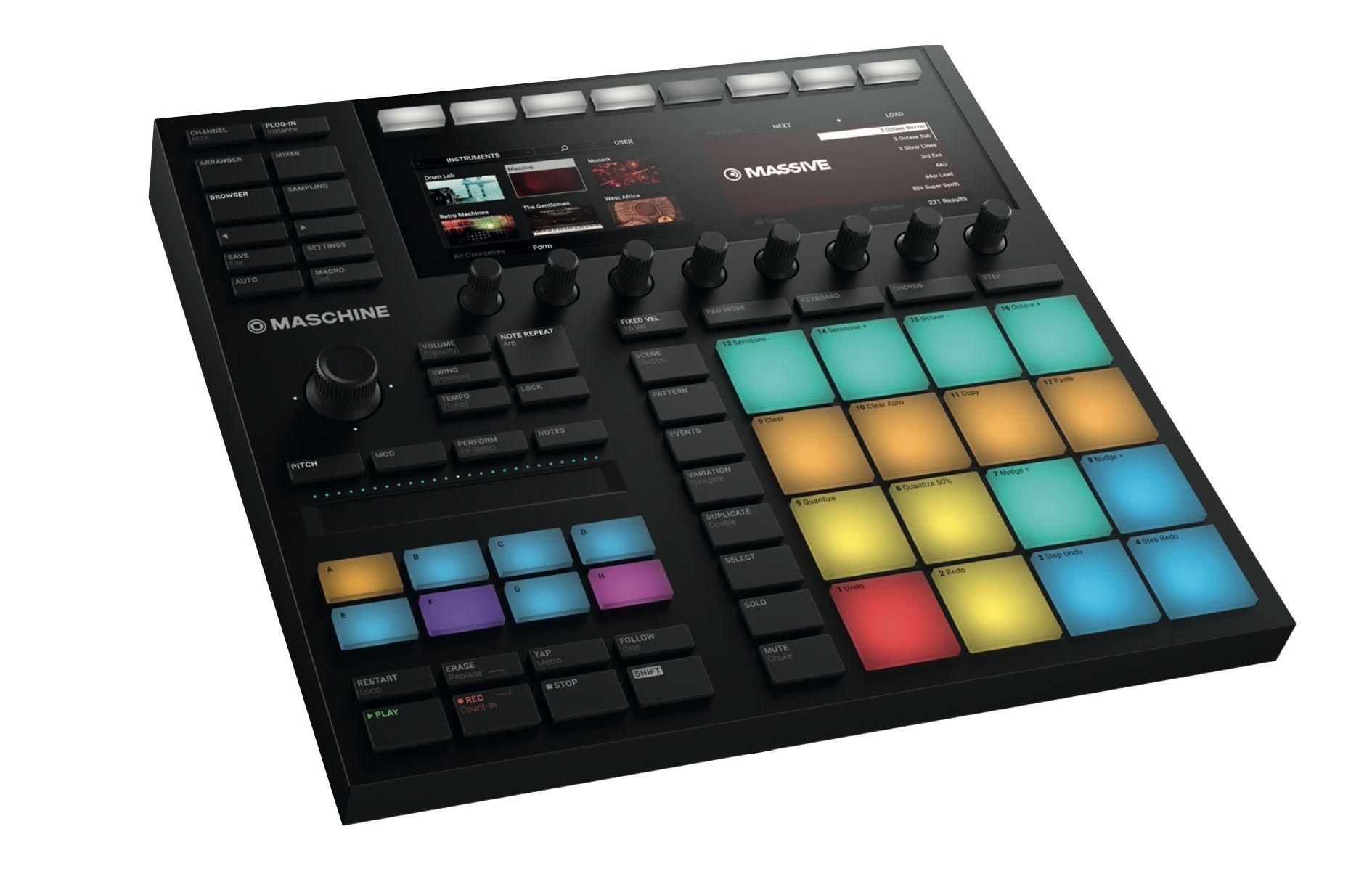 Native Instruments Maschine Mk3 Black Native Instruments Instruments Instrumental Beats