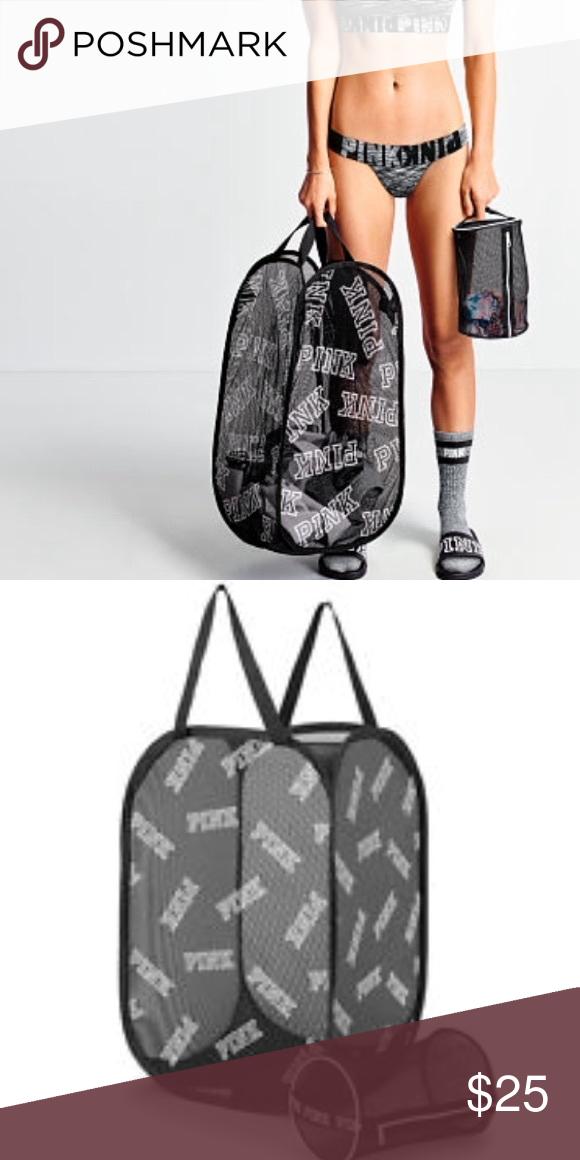 Pink Mesh Laundry Bag Plus Intimates Bag Victoria S Secret Pink