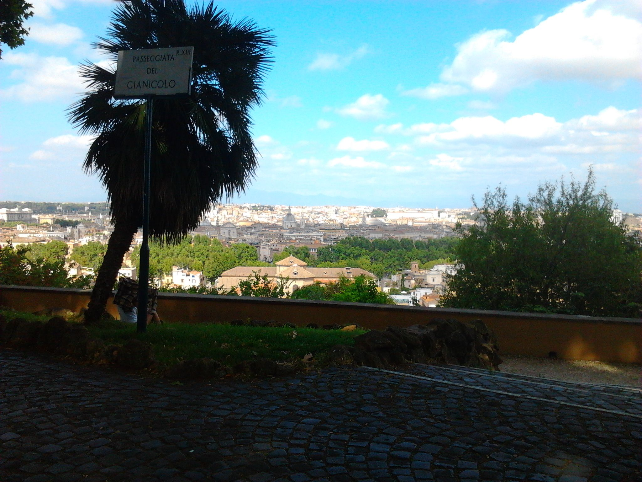 #Gianicolo.view.of.Rome!!