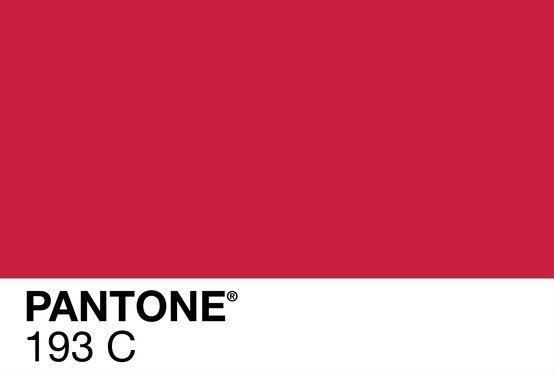 Our Color Pantone 193 C Color Me Red Cranberry Color
