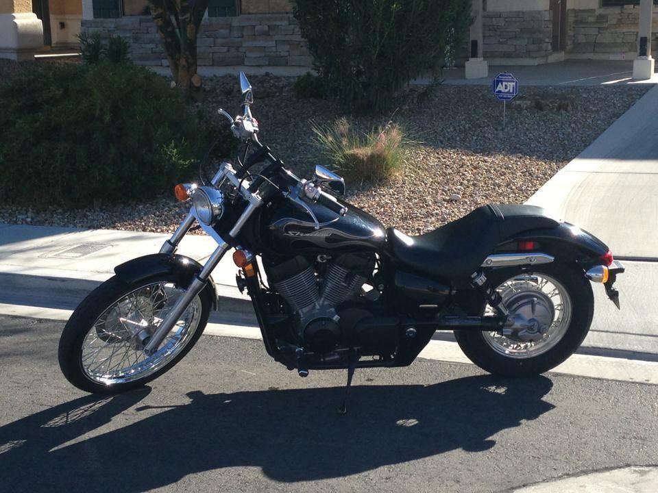 2007 Honda Shadow Spirit C2 Blacked Out Bikes Honda Shadow