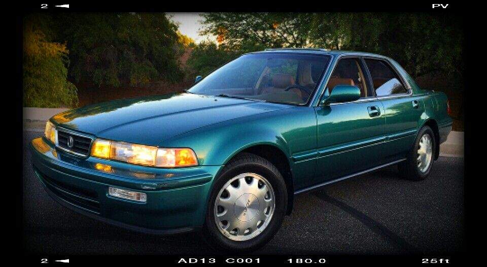 1996 acura vigor luxury sports sedan four door able and saloon y