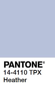 Pantone Heather Blue Hex Html B7c2da