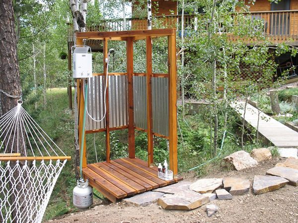 Pin By Alyssa Garcia On Eccotemp Products Outdoor Shower Enclosure Outdoor Shower Portable Outdoor Shower