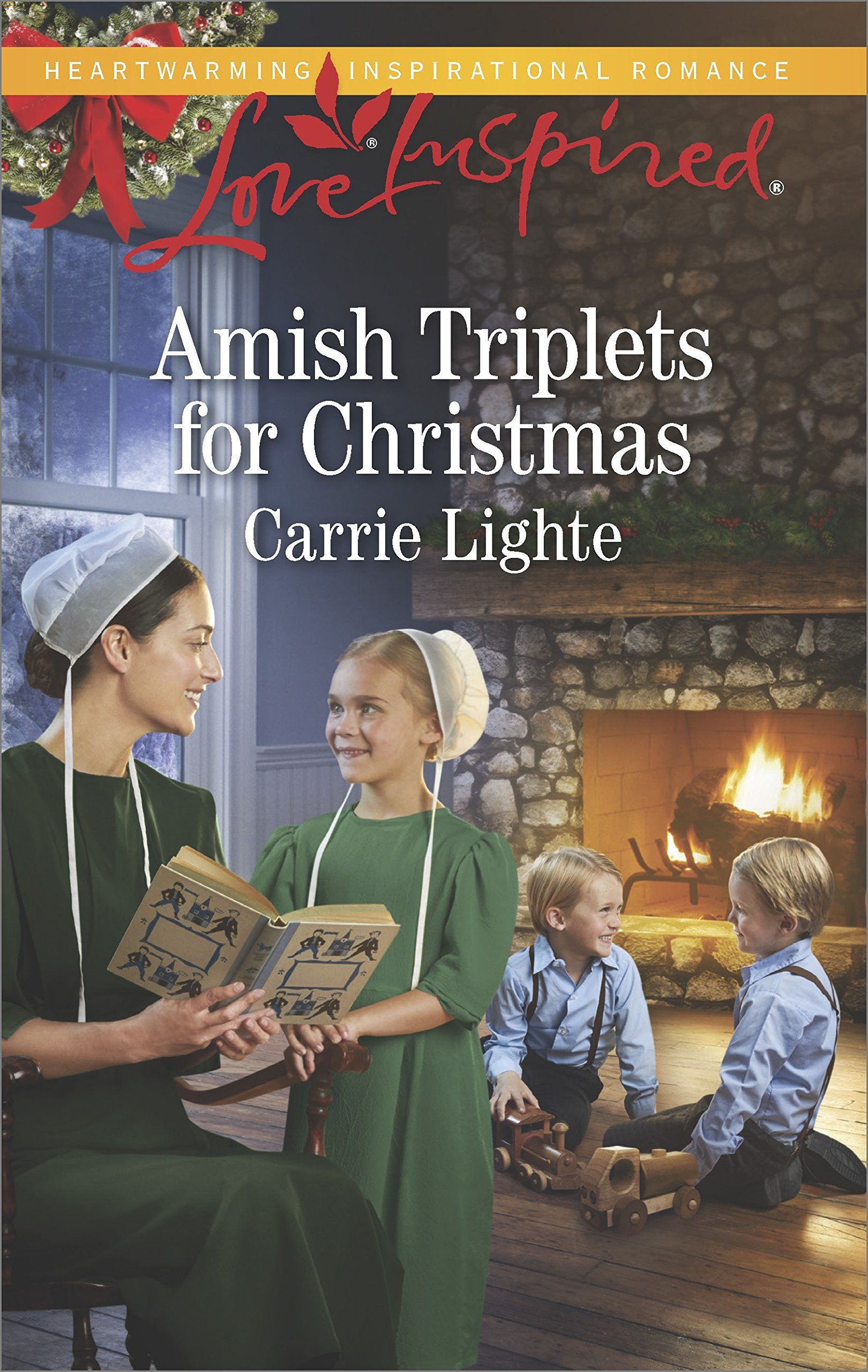 Carrie Lighte - Amish Triplets for Christmas / https://www.goodreads.