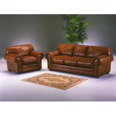 Winchester Leather Configurable Living Room Set | Living